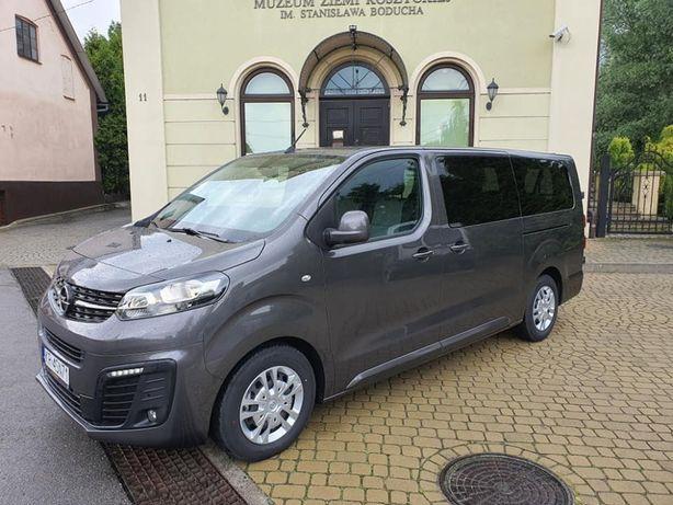 Wynajem Najnowszego Busa 9 Osobowego Opel Vivaro 2020r 2.0 150KM
