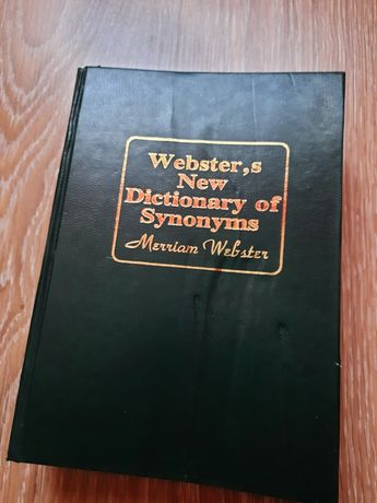 словарь Websters new dictionary of synonyms