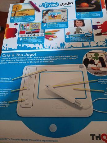 Wii- Tablet UDraw + jogos
