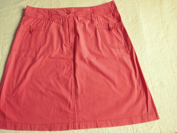Spódnica kolor różowy, rozmiar M.