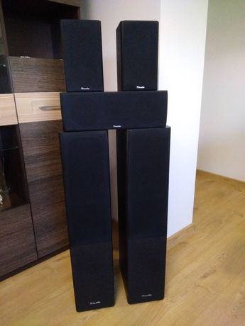 Kolumny Zestaw kolumn głośnikowych 5.0 głośniki