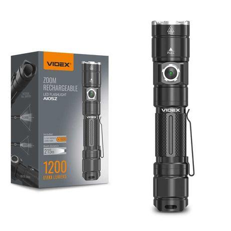 Светодиодный  ручной фонарь  A105Z VIDEX 1200Lm 5000K ne Fenix фонарик