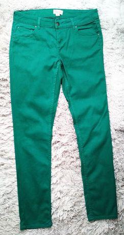 Zielone spodnie, rozmiar XL