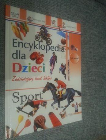 Encyklopedia dla dzieci Sport. Jak nowa!