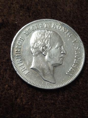 5 marek 1908 E FriedrichAugust Koenig von Sachsen