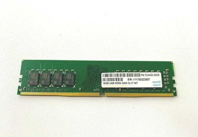 Apacer 16GB UNB DDR4 2400 CL17 WT 75.DA4GV.G000B на чипах Samsung!