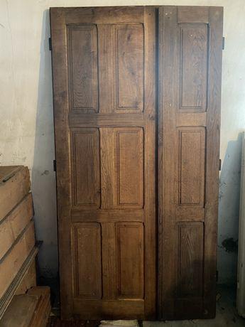 Дубові двері нові.Доставка по місту безкоштовно