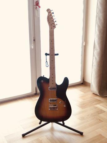 Gitara elektryczna telecaster: Harley Benton TE-90FLT SB Deluxe Series