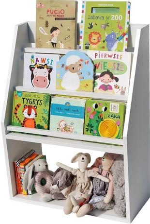 Półka na książki dla Dziecka Regał Biblioteczka Meble Nowa !