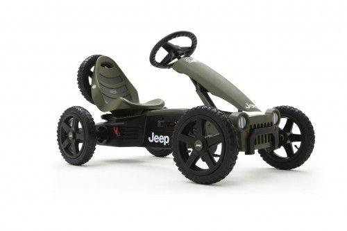 Gokart na pedały Jeep Adventure od 4 do 12 lat, do 60 kg