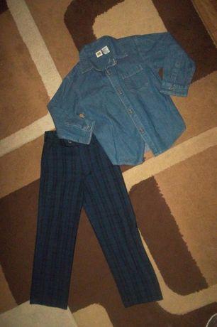 Комплект на мальчика (брюки+рубашка)