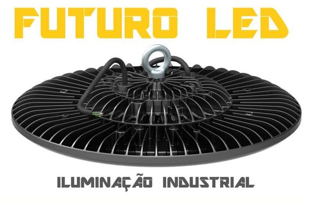 Campanula LED industrial 2 anos garantia