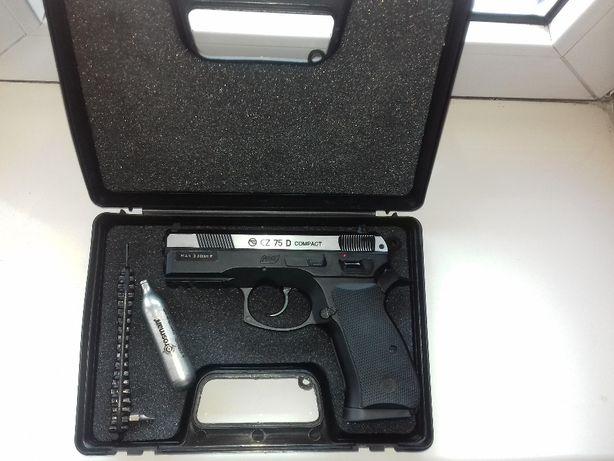 Pistolet wiatrówka CZ 75D