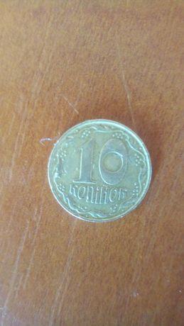 Продам монету 10коп.1992р.