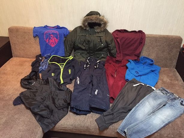 Пакет одежды зима осень р.116 парка комбинезон George Lenne HM Next