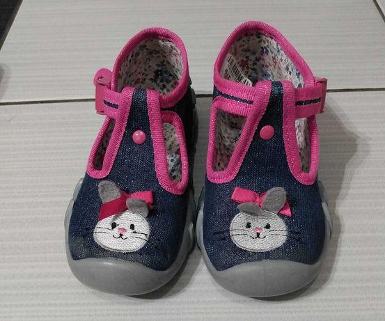Buciki pantofle dziewczęce Befado