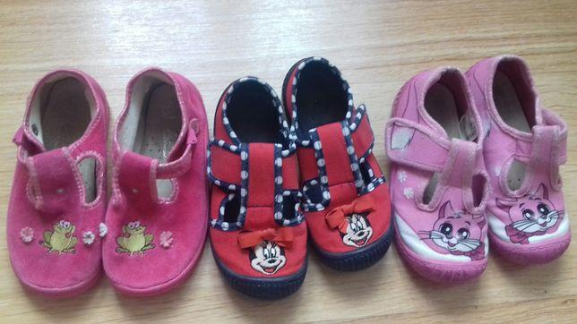 Pantofle befado, baletki roz 25