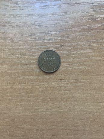 Один цент «перевёртыш» 1946 года.