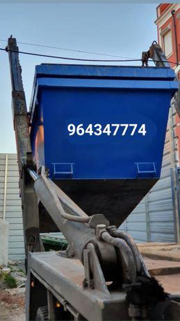 Recolhemos todo o tipo de entulho em 6m³ e resíduos 20m³, 30m³ e 40m³