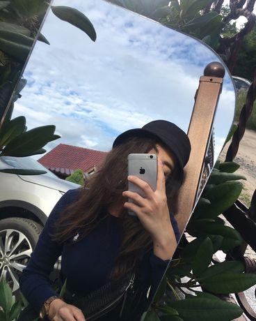 Czarny kapelusz bucket hat black bawełniany