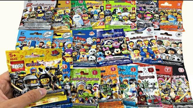 Lego séries (figuras)