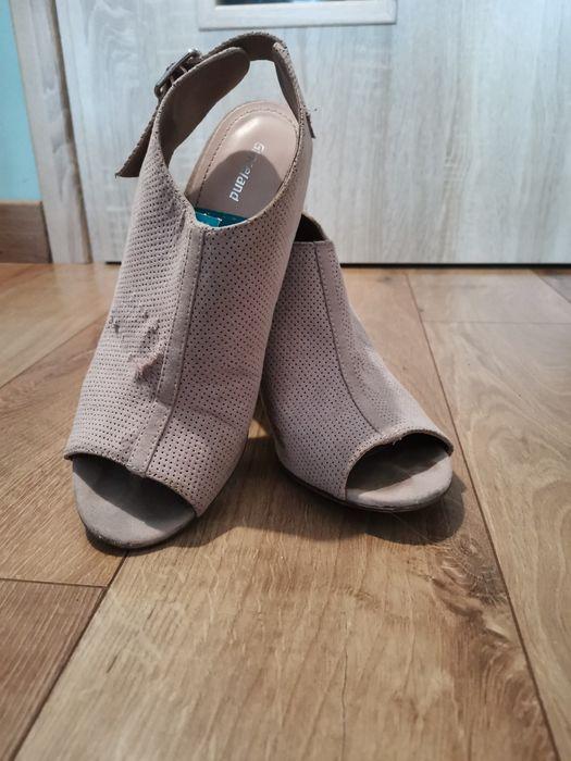 Brudny róż buty na obcasie rozm 39 Dachowa - image 1