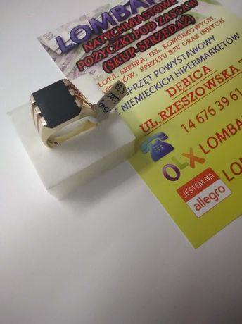 Złoty sygnet PR.585 Waga 13,00g r.27 ! Lombard Dębica