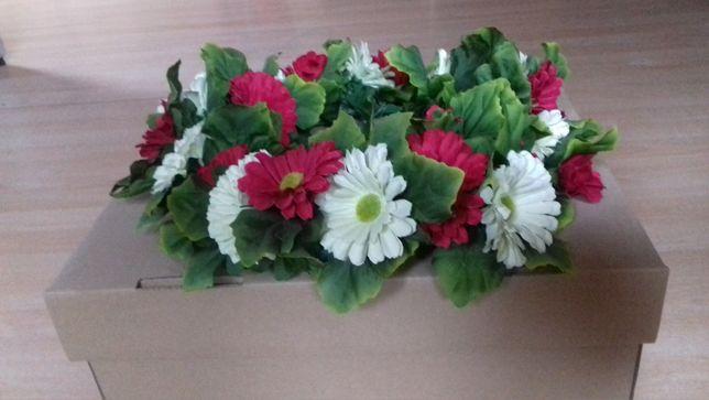 wianek ze sztucznych kwiatów na wiosnę lato na sesję