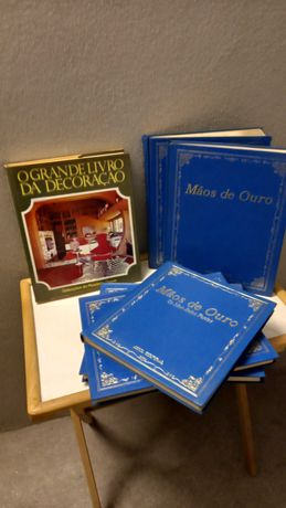 coleção de livros Mãos de Ouro