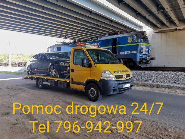 Autolaweta 24/7 pomoc drogowa, holowanie A2 ,DK70 , awaryjne odpalanie