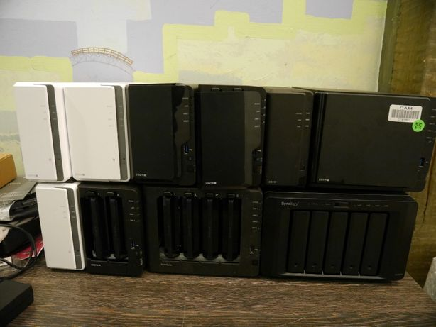 NAS сетевое хранилище домашний сервер Synology