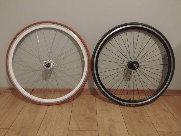 Koła rowerowe na piastach Novatec - ostre koło/single speed