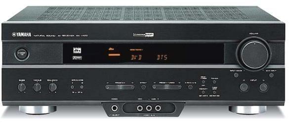 Home Cinema Yamaha RXV-420RDS + Yamaha NSP-220 + DVD Pioneer DV-343