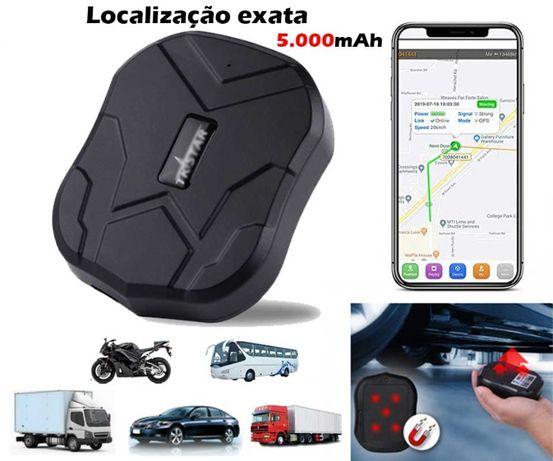 Localizador GPS IMAN (Bateria 60 Dias/100% Exato/APP) Carros Etc (NOVO