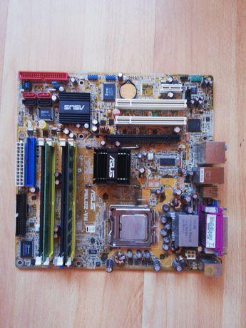 Płyta główna Asus PSLD2-VM +akcesoria komputerowe