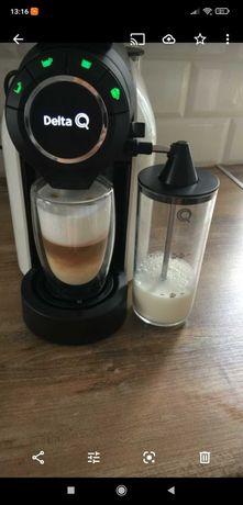 ekspres do kawy DELTA Q ze spieniaczem mleka super prezent + gratis