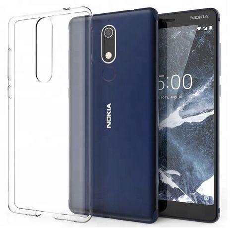 Прозрачный чехол Nokia 3.1 /5.1 / 5.1+ / 7.1 / 7.1+