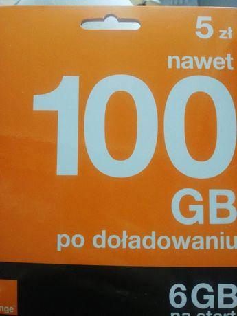 Złota para numerów orange 500