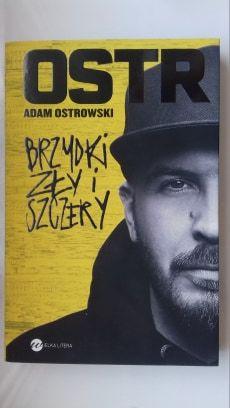 """Okładka O.S.T.R. - książka """"Brzydki, zły i szczery"""", autobiografia"""