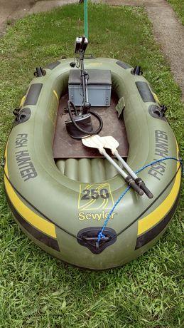 Рибацький надувний човен