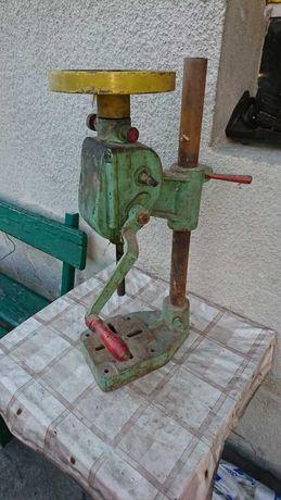 Wiertarka stołowa ręczna (antyk)