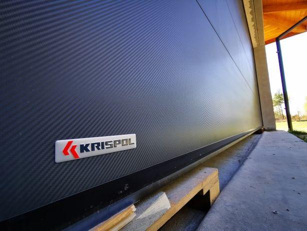 Bramy segmentowe garażowe i przemysłowe KRISPOL - sprzedaż, montaż
