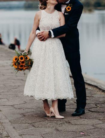 Suknia ślubna Viola Piekut TARA r. 34-36