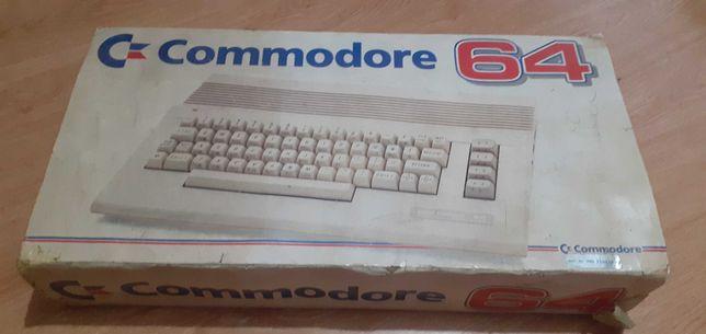 Commodore 64 oryginalny, Black box, zasilacz