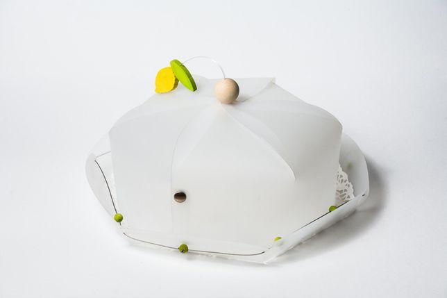 Prato com tampa para bolo - Legnomagia