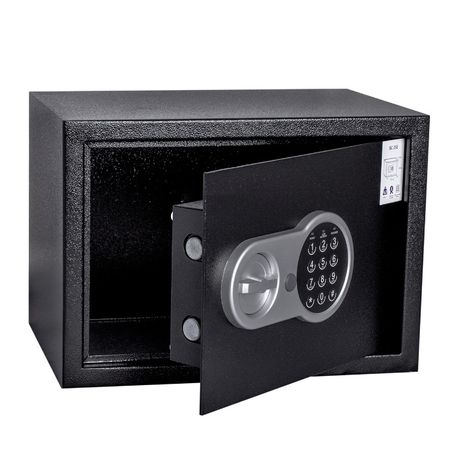 Новый качественный сейф (электронный кодовый замок, 31х20х20см.)