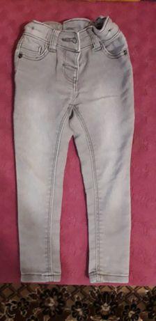 Джинсы 2 пары стрейч лосины джинсовые