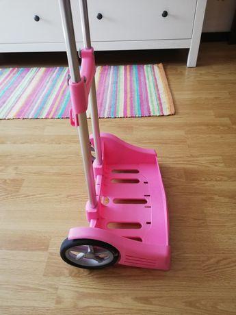 Trolley escolar rosa Safta