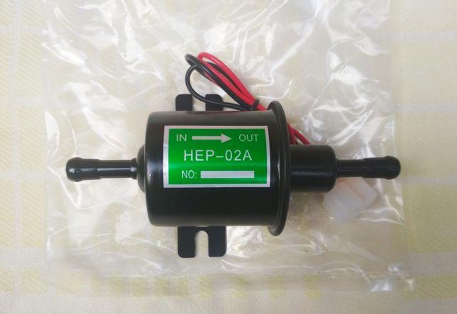 Бензонасос, hep 02 a, электробензонасос, hep02a, топливный насос