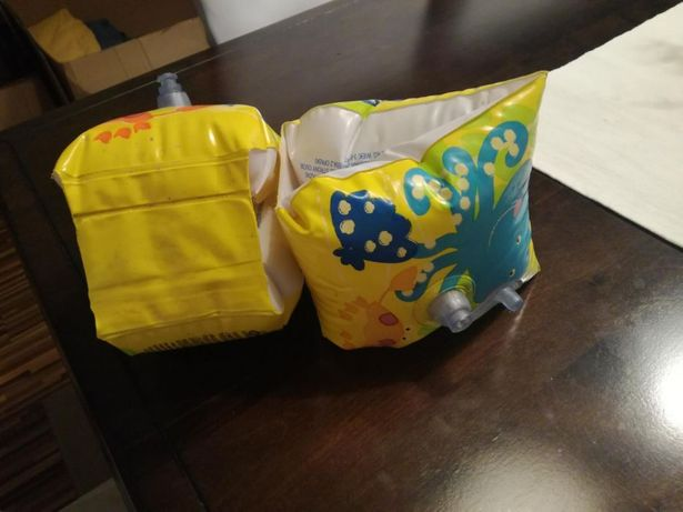 Poduszki rękawki do nauki pływania dziecięce 3 6 lat